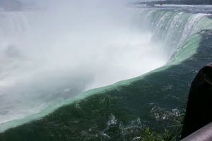 Water Over Niagara Falls